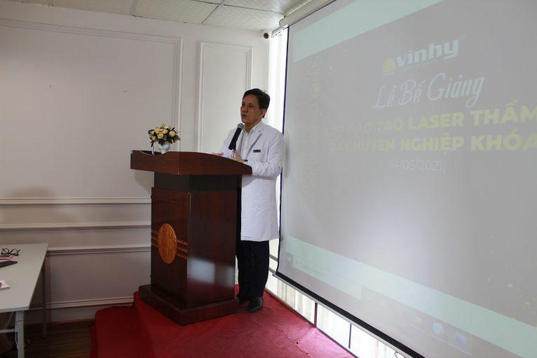 Lễ bế giảng khóa đào tạo laser thẩm mỹ da chuyên nghiệp khóa 16